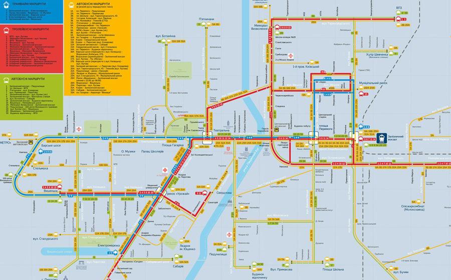 громадського транспорту
