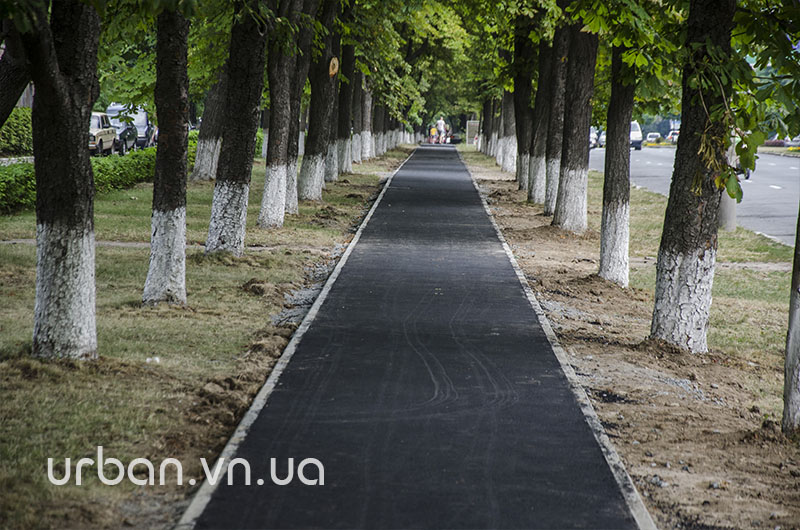 Єдину у Вінниці відокремлену велодоріжку першими випробовують… мами з колясками (фото) - фото 4